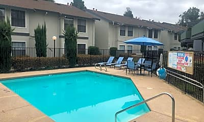 Pool, Somerset Apartments, 1