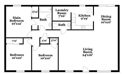 Bathroom, 223 Sandalwood Dr, 2