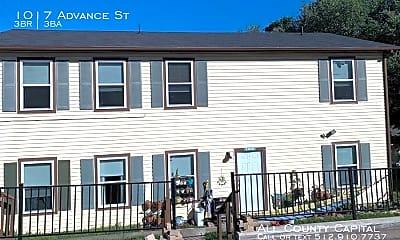 Building, 1017 Advance St, 0