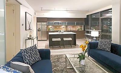 Living Room, 820 Blanchard St, 1