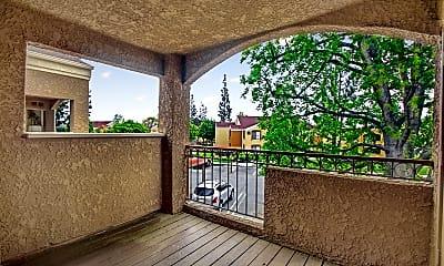 Patio / Deck, Estancia Apartment, 2