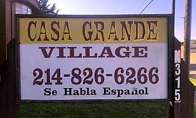 Casa Grande Village, 1