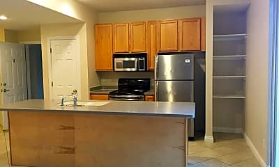 Kitchen, Waterview Apartments, 1
