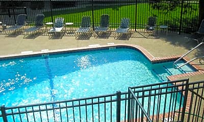 Pool, Brookhollow Apartments, 1