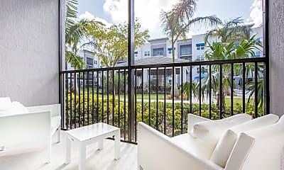 Patio / Deck, Cottonwood West Palm Apartments, 2