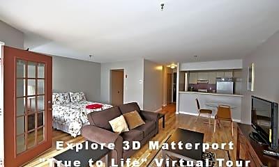 Living Room, 40 Cambridge Ave 102, 0
