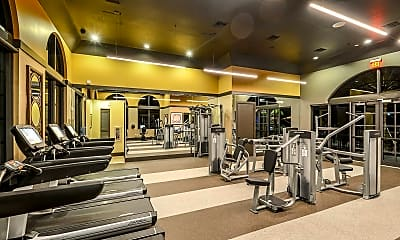 Fitness Weight Room, Palm Ranch, 1