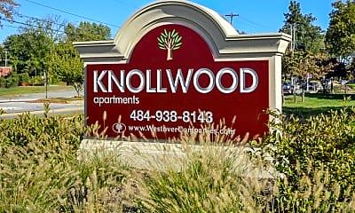 Community Signage, Knollwood Apartments, 0
