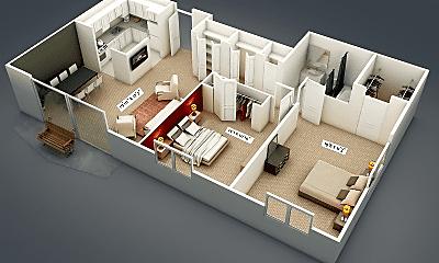 Camelot Apartments, 2