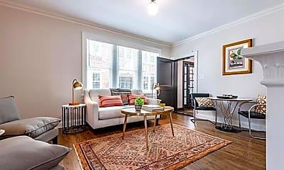 Living Room, 2837 Hemphill St 204, 1