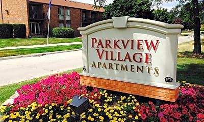 Building, Parkview Village Apartments, 0