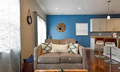 Living Room, The Townhomes of Liberty Ridge, 1