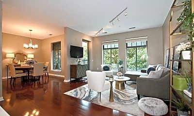 Living Room, 250 Daniel Burnham Square, 1