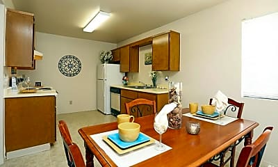 Dining Room, Summerfield Apartments, 1