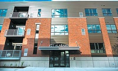Building, Lofts on Alabama, 0