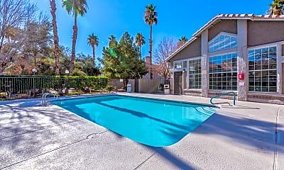 Pool, Sunrise Springs Apartments, 0