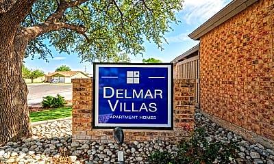 Community Signage, Delmar Villas, 2
