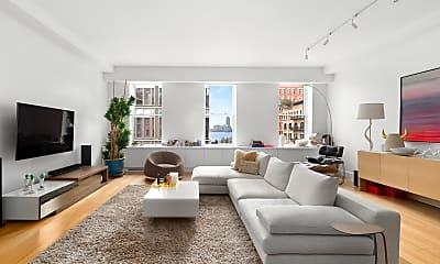Living Room, 15 Hubert St 4-A, 0