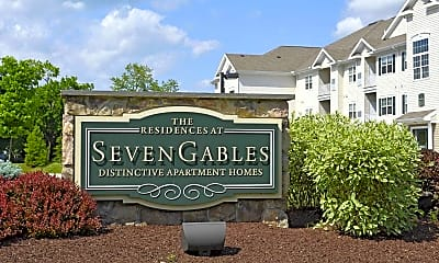 Community Signage, The Residences at Seven Gables, 2