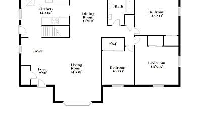 Building, 14008 Knollway Dr S, 2