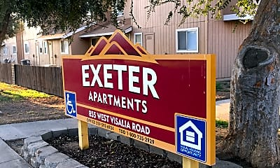 Exeter Apartments, 1
