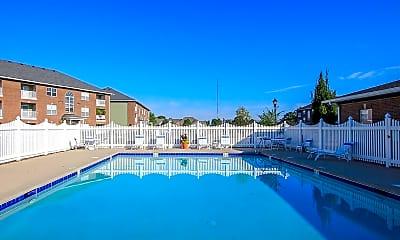 Pool, Towne Park Apartments, 0