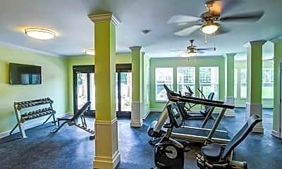 Fitness Weight Room, Fairfield Manor, 2