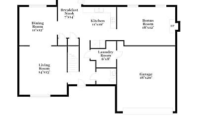 Building, 3196 Creekwood Dr, 1