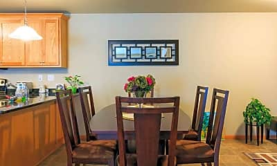 Dining Room, Stonewood Apartments, 1