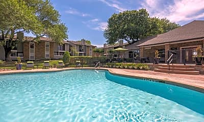 Pool, Fossil Hill Apartments, 0