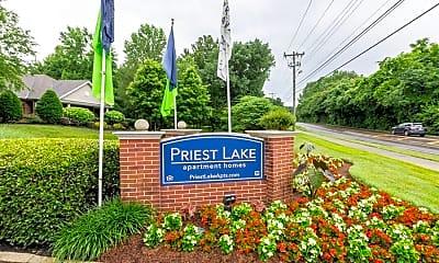 Community Signage, Priest Lake, 2