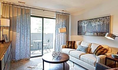 Living Room, Walden Pond, 1