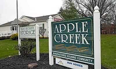 Community Signage, Apple Creek, 2