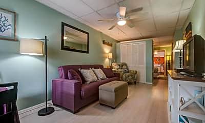 Living Room, 31 Atlantic Ave 1E, 1