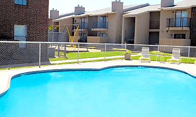 Pool, 110 Sierra Grande St, 2