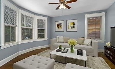Living Room, 3714 Walnut St, 0
