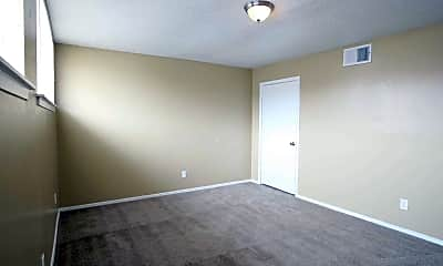 Bedroom, Woodland Towns Apartments, 2