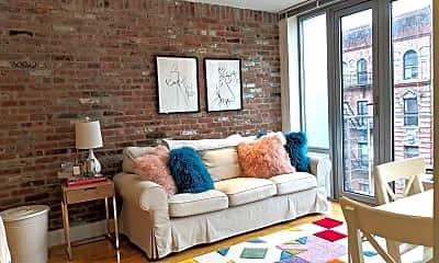 Living Room, 636 E 11th St 6E, 0