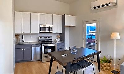 Kitchen, 61st Avenue Apartments, 1