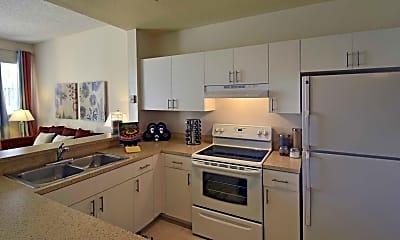 Kitchen, St. Tropez Apartments, 1