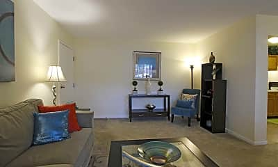 Living Room, The Palms Apartments, 1