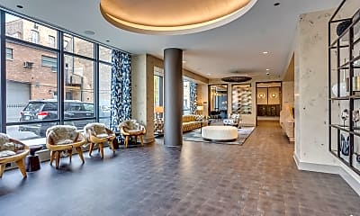 Living Room, 740 N Aberdeen St PH-1103, 2