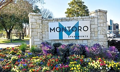 Community Signage, Montoro Apartments, 2