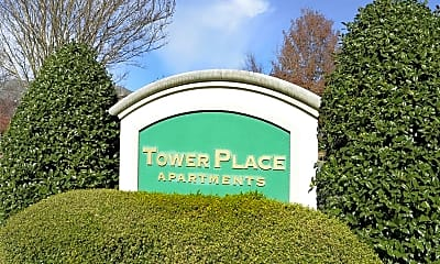 Community Signage, Tower Place Apartments, 2