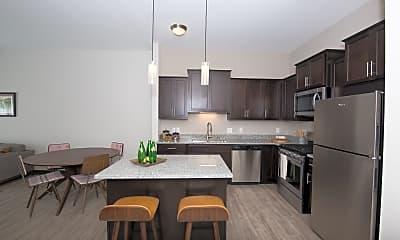 Kitchen, Birdtown Flats, 0
