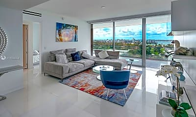 Living Room, 10203 Collins Ave 1005, 0