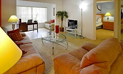 Living Room, Treasure Cay Apartments, 1