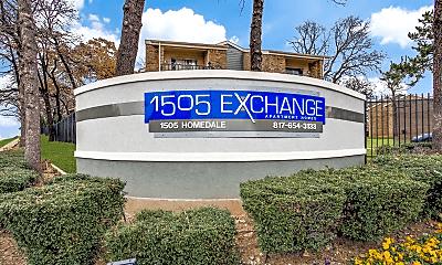 Community Signage, 1505 Exchange, 0