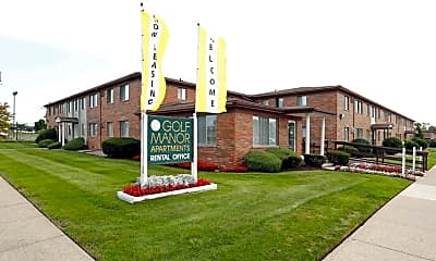 Community Signage, Golf Manor, 0