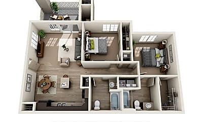 Living Room, 545 Centennial Dr, 2